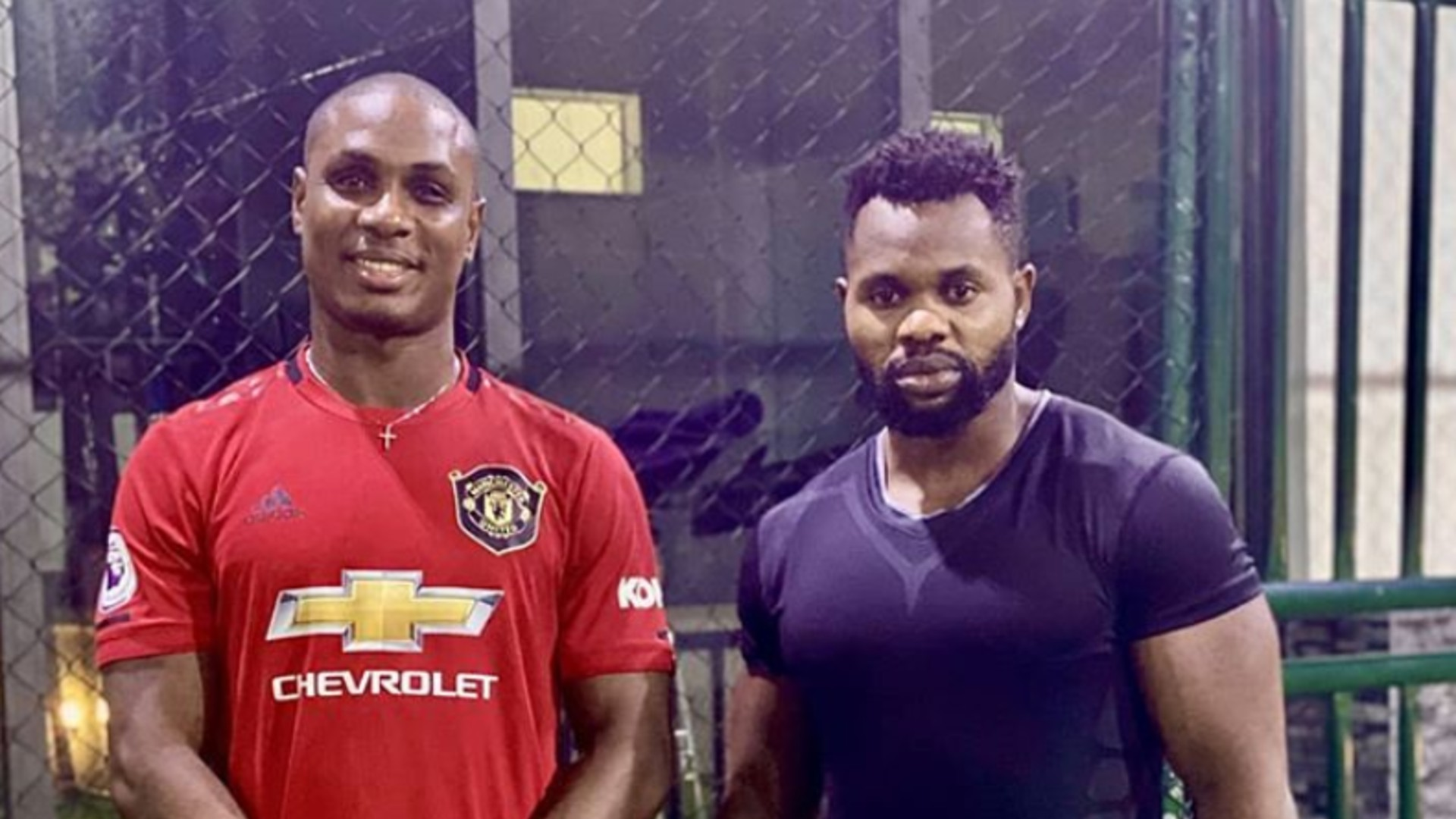 Odion Ighalo Manchester United personal trainer