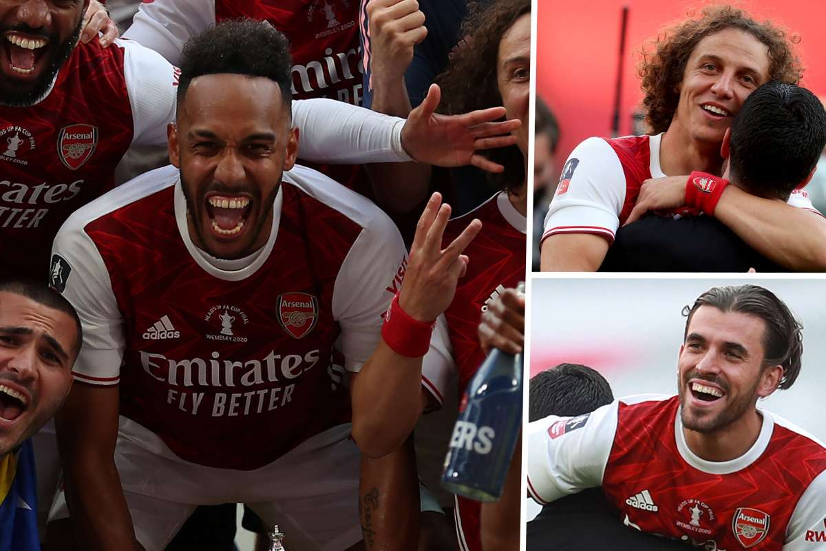 Sign da ting!' Cup final hero Aubameyang has Arsenal dreaming of a ...