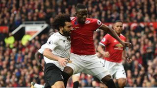 Eric Bailly Mohamed Salah Manchester United Liverpool Premier League