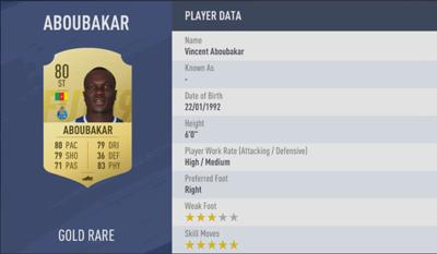 Vincent Aboubakar | FIFA 19