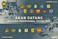 Malaysia Professional Futsal, 012019