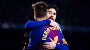 Denis Suarez Lionel Messi