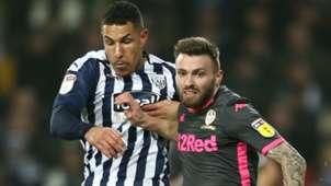 Jake Livermore West Brom Stuart Dallas Leeds United 2019-20
