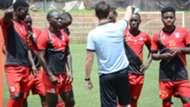 Uganda Cranes Head Coach Johhny McKinstry.