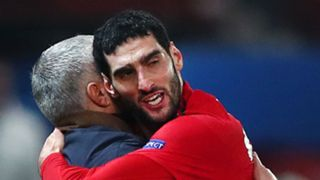 Marouane Fellaini Jose Mourinho Manchester United Young Boys Champions League 27112018