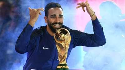 Adil Rami France celebrations