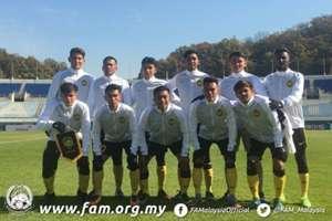Malaysia U19, AFC U-19 Championship qualification, 31102017