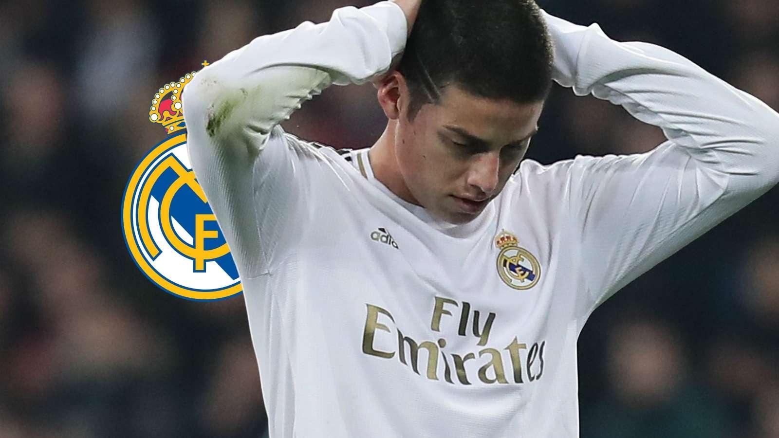 James Rodriguez Real Madrid GFX