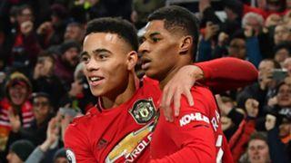 Mason Greenwood Marcus Rashford Manchester United 2019-20