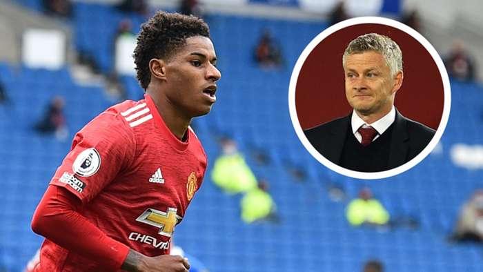 Rashford/Solskjaer Manchester United 2020-21