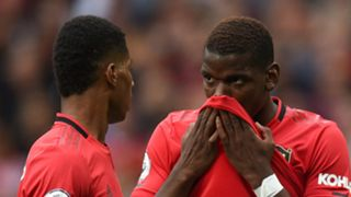Marcus Rashford, Paul Pogba, Man Utd