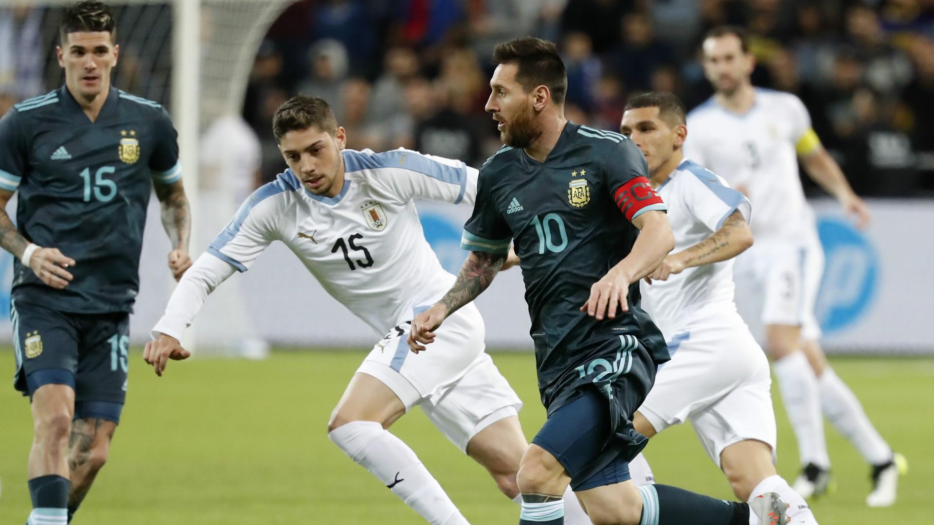Lionel Messi Argentina Uruguay Friendly 18112019