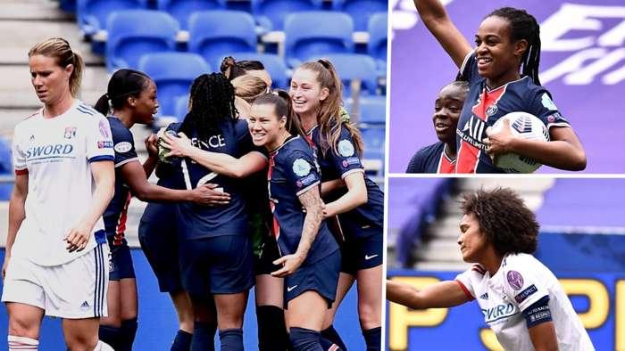 PSG Lyon composite