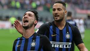 Politano celeb Inter Genoa
