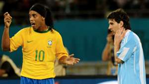 Ronaldinho is right: We can only say Messi is the best player of his own era