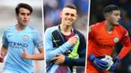 Eric Garcia Phil Foden Aro Muric Manchester City 2018-19
