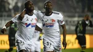 Moussa Konate Bakaye Dibassy Amiens Guingamp Ligue 1 20012018