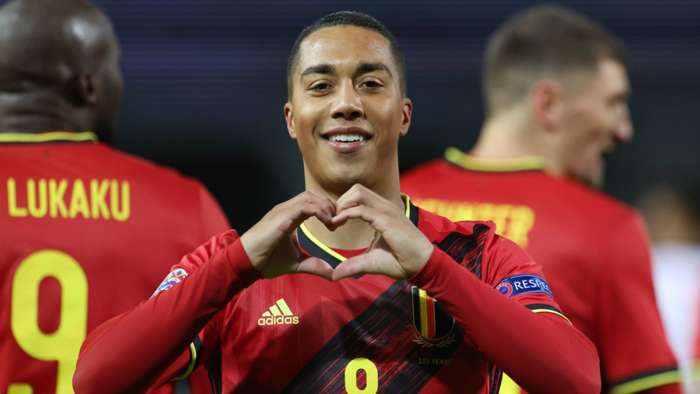 Youri Tielemans Belgium vs England 2020-21