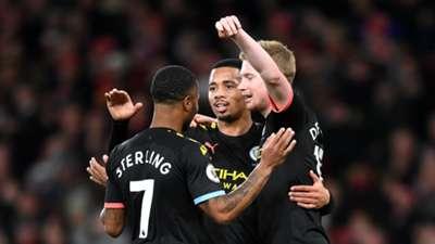 Sterling De Bruyne Jesus Manchester City