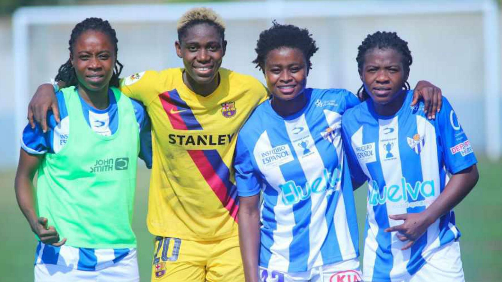 Oshoala faces Adubea as 20 Africans learn Spanish Copa de la Reina Round of 16 fate
