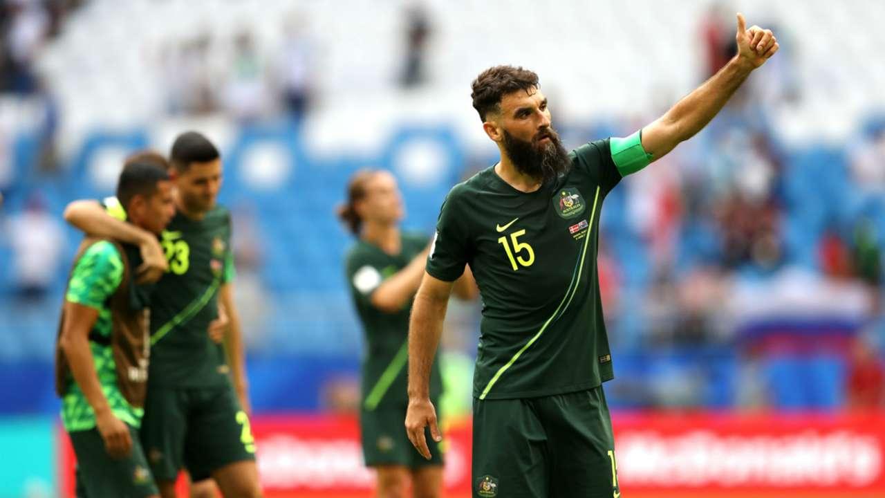 Socceroos Mile Jedinak 2018