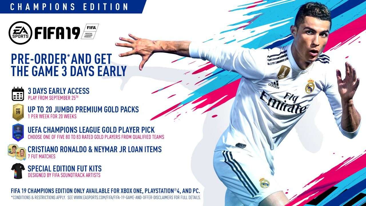 representante Touhou Ejército  FIFA 19: New Champions League features in Ultimate Team, The Journey & more  | Goal.com