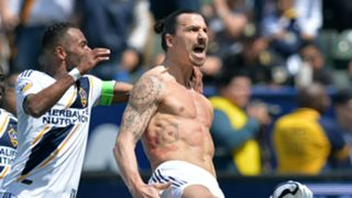 Zlatan Ibrahimovic LA Galaxy celebration