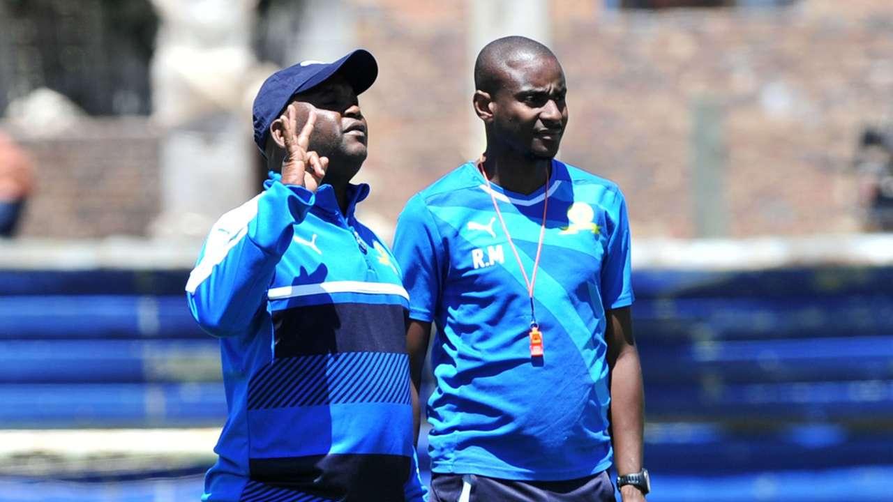 Pitso Mosimane and Rhulani Mokwena - Mamelodi Sundowns July 2020