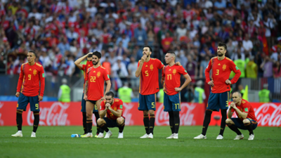 Spain Russia World Cup 2018