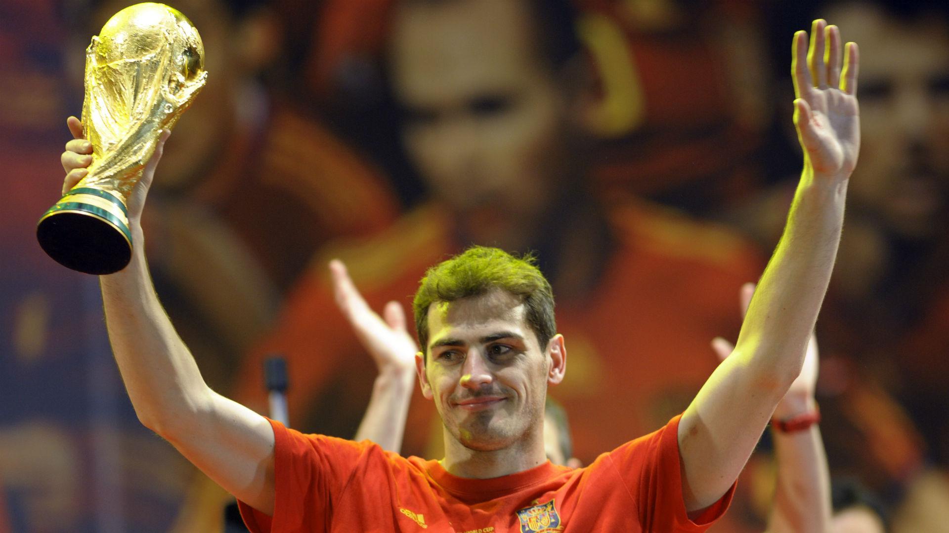 Iker Casillas Spain World Cup 2010