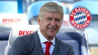Arsene Wenger Bayern Munich Logo