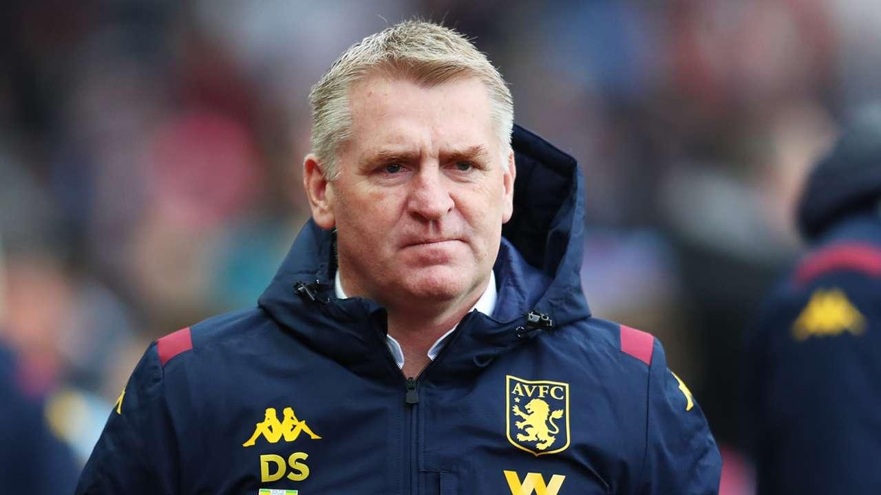 Dean Smith Aston Villa 2019-20