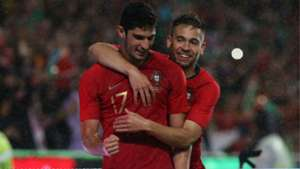Goncalo Guedes Raphael Guerreiro Portugal Algeria international friendly 2018