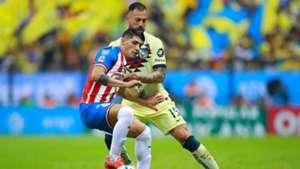 Alan Pulido Emmanuel Aguilera Chivas vs América Apertura 2019