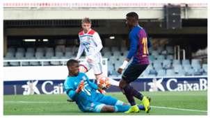 Barcelona Lyon UEFA Youth League