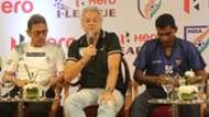 Sanjoy Sen Luis Matos Alfred Fernandes I-League