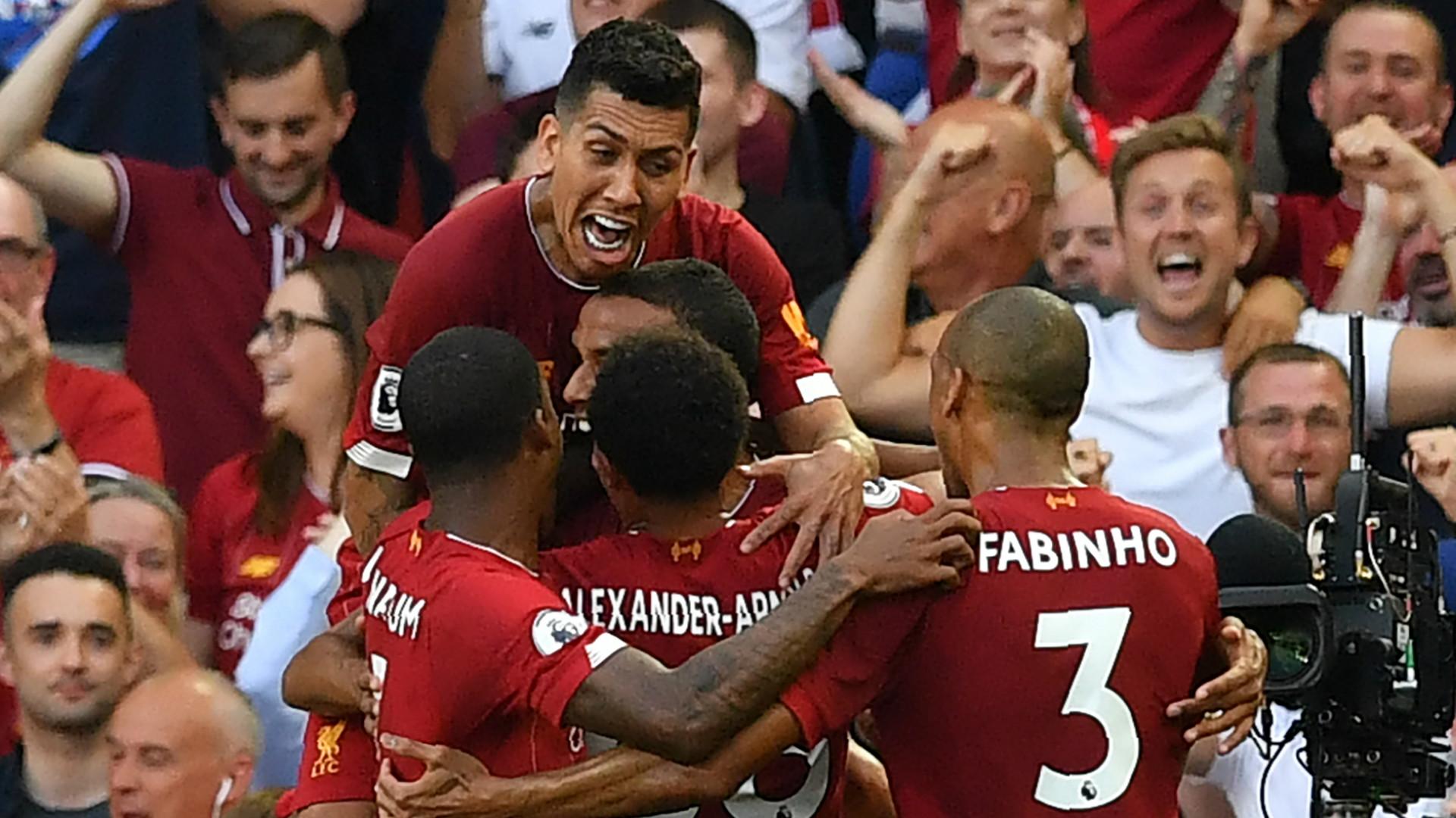 'We're Premier League champions!' - Liverpool celebrate ...