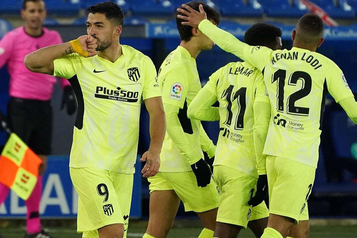 Luis Suarez Atletico Madrid 2020-21