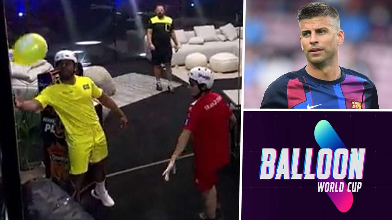 Gerard Pique Balloon World Cup
