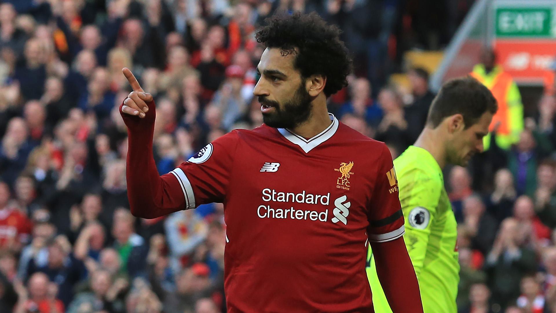 Mohamed Salah Liverpool Bournemouth Premier League