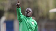 Harambee Starlets coach David Ouma.