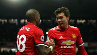 Ashley Young Victor Lindelof Manchester United