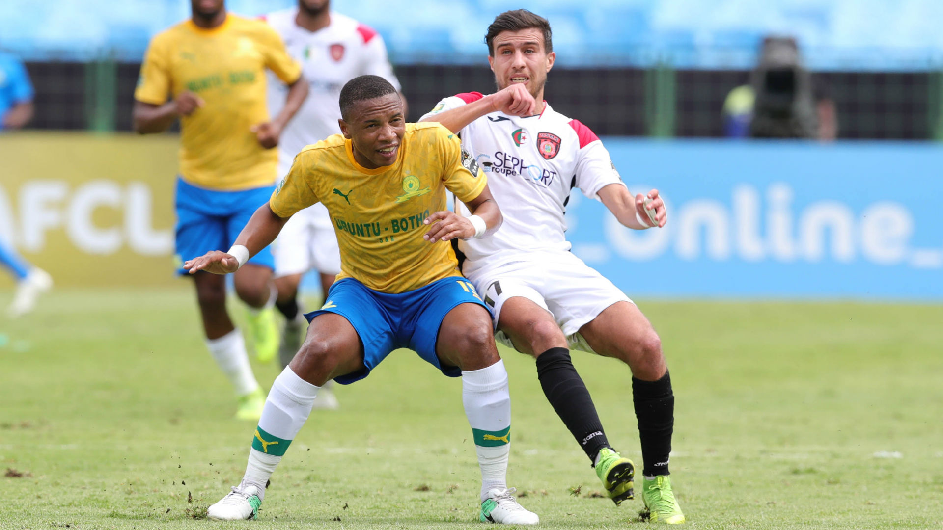 Caf Champions League - Mamelodi Sundowns 2-1 USM Alger: Masandawana ease into quarter-finals