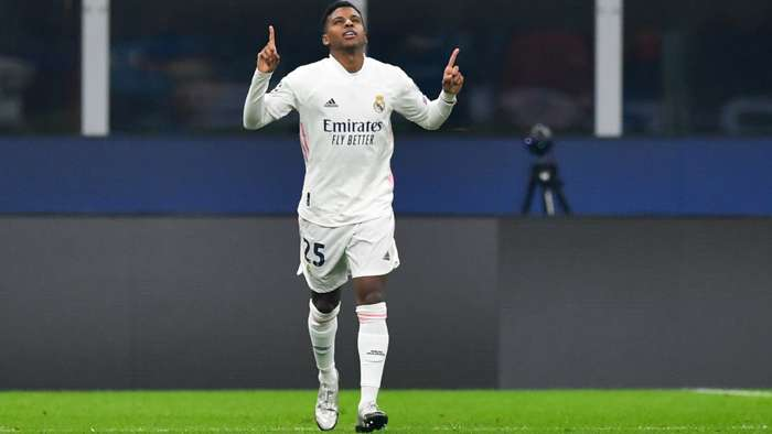 Rodrygo Real Madrid 2020-21