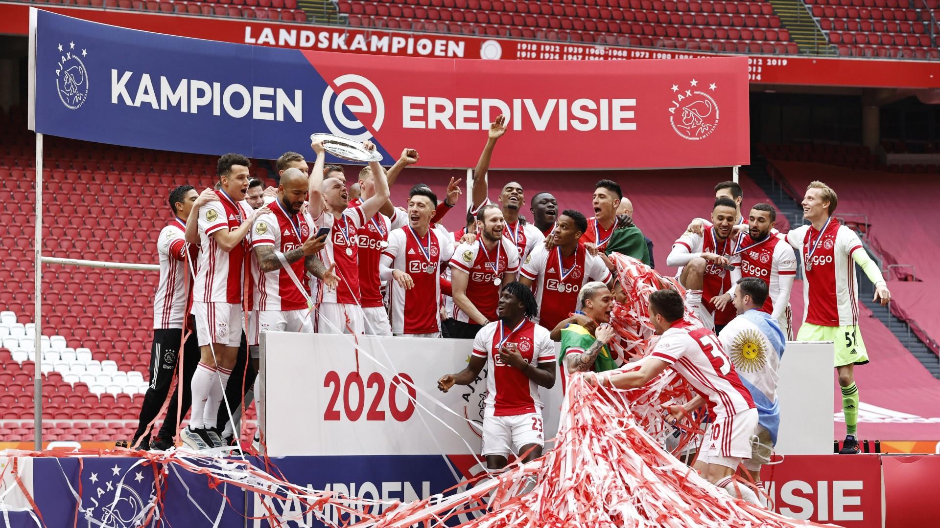 Ajax champion eredivisie