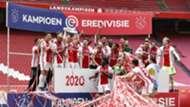 Ajax title celebration