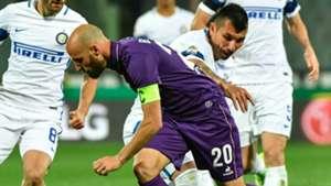 Medel Borja Valero Fiorentina Inter Serie A