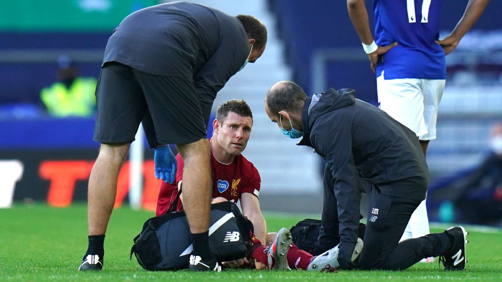 Milner injury Liverpool 2020