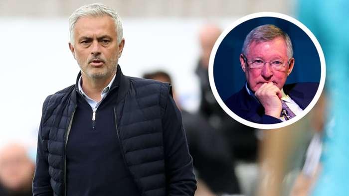 Mourinho/Ferguson split
