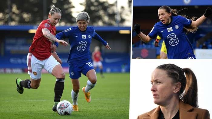 Manchester United Chelsea Women split